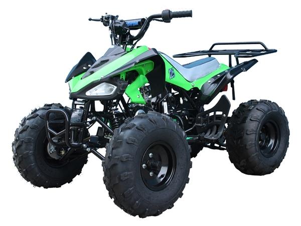 "SPORTY 125cc MIDSIZE AUTOMATIC ATV w REVERSE, 8"" RIMS ..."
